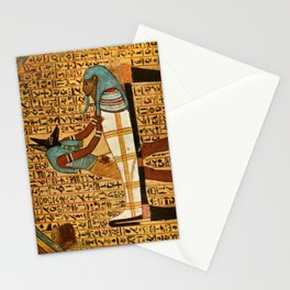 Ancient - Egyptian Wall Paintings 1956, Tomb of Amennakht Stationery Cards