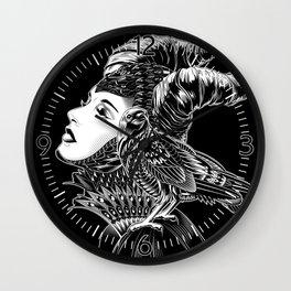 Maleficent Tribute Wall Clock