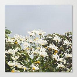 Embrace a bouquet of flowers Canvas Print