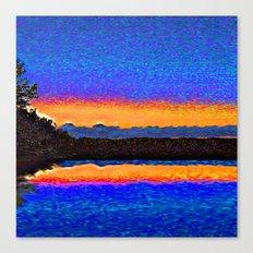 Firefly Lake Canvas Print