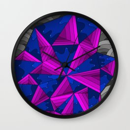 smell the colour 11 Wall Clock