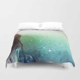 Glitter and grease. Duvet Cover