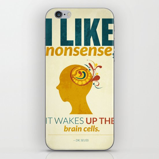 Dr. Seuss iPhone & iPod Skin