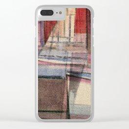 Stilt House 3 Clear iPhone Case