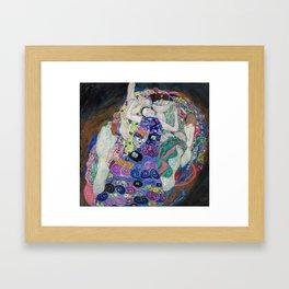 The Maiden Gustav Klimt Framed Art Print