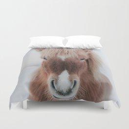 Icelandic Horse Duvet Cover