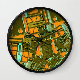 Mechanical 17 Wall Clock