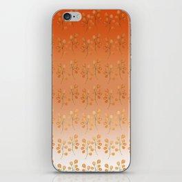 """""""Cactus flowers in soft orange"""" iPhone Skin"""