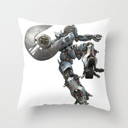 Autobot Transformer Throw Pillow