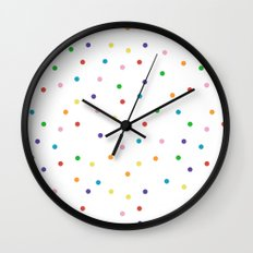 Candy Repeat Wall Clock