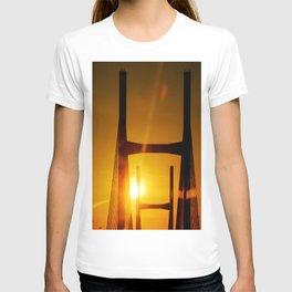 Sunset at the Bridge T-shirt