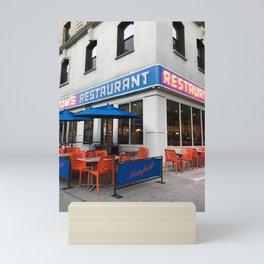 Seinfeld Restaurant, Manhattan NYC Mini Art Print