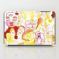 women iPad Cases featuring Women by Clara López