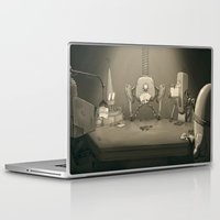 poker Laptop & iPad Skins featuring Bot Poker by Samize