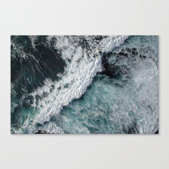 Ocean Wrath Canvas Print