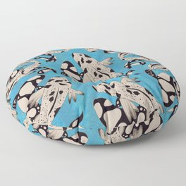 Speckled Koi Floor Pillow