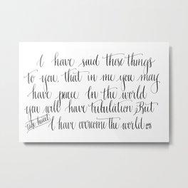 Take Heart Metal Print