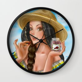 A comer hormigas Culonas Wall Clock