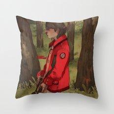 The Hunter's Code Throw Pillow