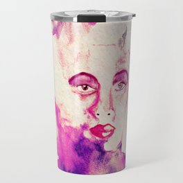 African Woman Travel Mug