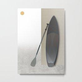 Surf Paddle Board Metal Print