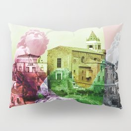 City of Angels in Sicily Pillow Sham
