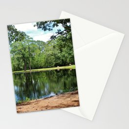 A Swimming Hole Stationery Cards