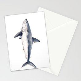 Porbeagle shark (Lamna nasus) Stationery Cards