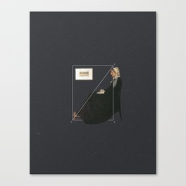 NOT Whistler's Mother Canvas Print