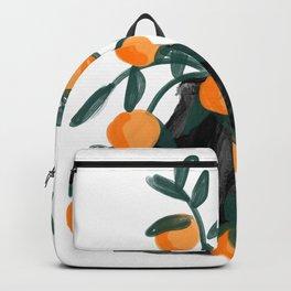 Oranges in vase No 06 Backpack