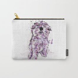 Purple Dog Carry-All Pouch