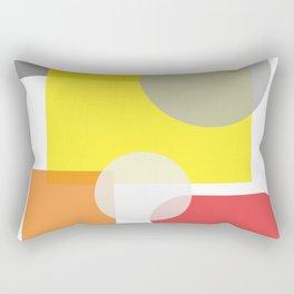Tech geometric colorful Background #society6 #decor #buyart #artprint Rectangular Pillow