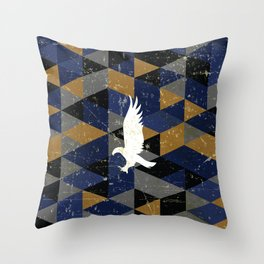 Ravenclaw House Pattern Throw Pillow
