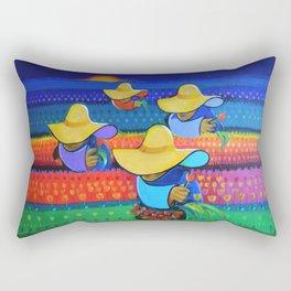 LAS DAMAS RECOLECTORAS Rectangular Pillow