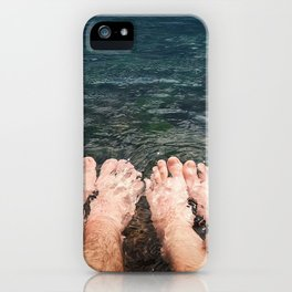resting together iPhone Case