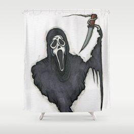Ghostface Shower Curtain