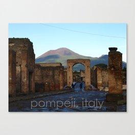 pompeii, italy Canvas Print