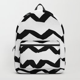 Ink Chevron Backpack