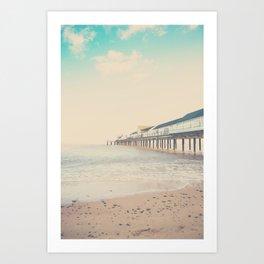the sea ... Art Print