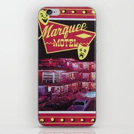 Marquee Motel in North Wildwood, New Jersey. 1960's Retro Motel iPhone Skin