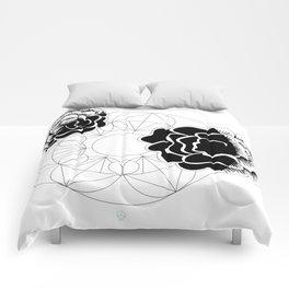 Roses mandala Comforters