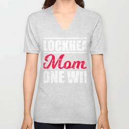 Blockhead Mom Gone Wild T-shirt Design Mother Mommy Idiot Stupid Dummy Insane Senseless Naive Unisex V-Neck