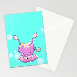 Monster Octo-Kitty Stationery Cards