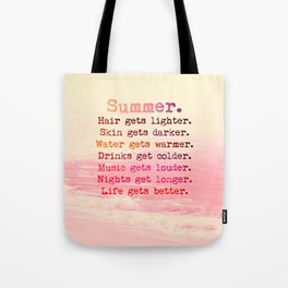 SUMMER IN PINK Tote Bag