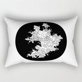 natural satellite Rectangular Pillow