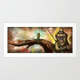 Monkey King Art Print
