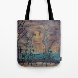 Power Structures Tote Bag
