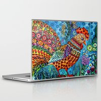 cock Laptop & iPad Skins featuring Cock by oxana zaika