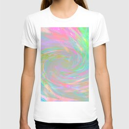 Holographic Cosmic Storm T-shirt