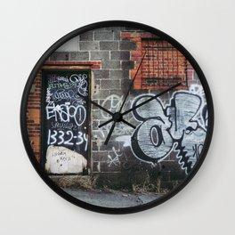 1332-34 Wall Clock